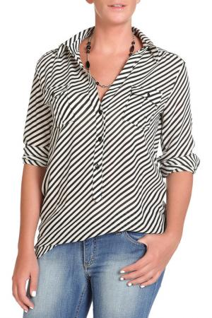 Блуза DENNEY ROSE. Цвет: черный