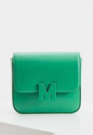 Сумка поясная MSGM. Цвет: зеленый