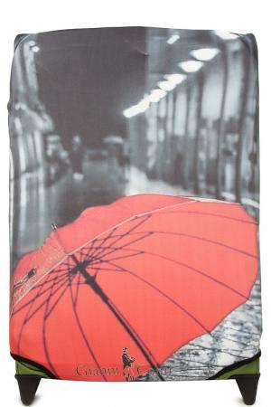 Чехол на чемодан GIANNI CONTI. Цвет: красный