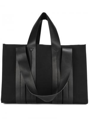 Большая сумка на плечо Costanza Corto Moltedo. Цвет: чёрный