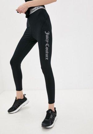Леггинсы Juicy Couture. Цвет: черный