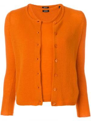Комплект двойка Aspesi. Цвет: жёлтый и оранжевый