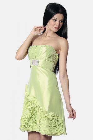 Платье AFTERSHOCK. Цвет: зеленый