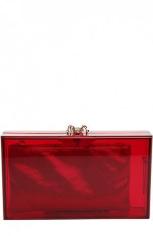 Клатч Pandora Colour Charlotte Olympia. Цвет: красный