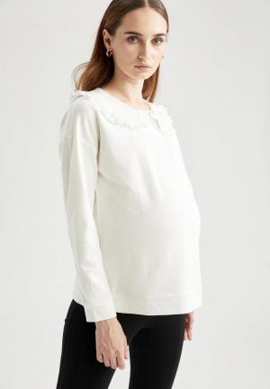 Блуза DeFacto. Цвет: белый