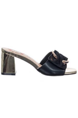 Heeled sandals GAI MATTIOLO. Цвет: black