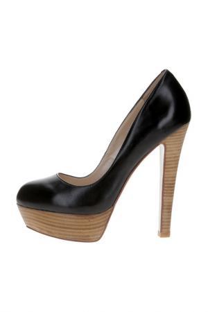 Туфли ELMONTE. Цвет: черный