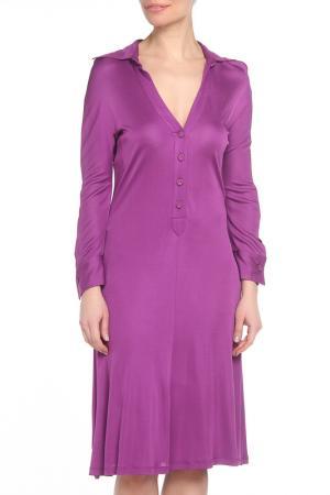 Платье Gio Guerreri. Цвет: фиолетовый