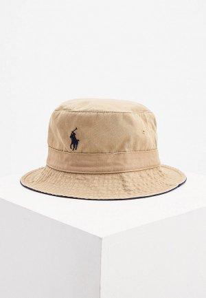 Панама Polo Ralph Lauren. Цвет: бежевый