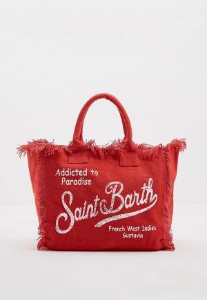 Сумка MC2 Saint Barth. Цвет: красный