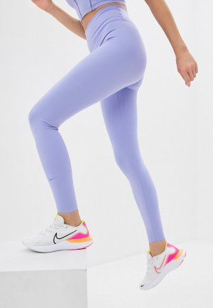 Тайтсы Nike. Цвет: фиолетовый