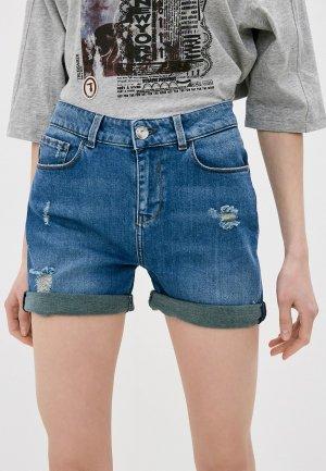 Шорты джинсовые Trussardi. Цвет: синий