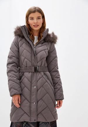 Куртка утепленная Wallis. Цвет: коричневый