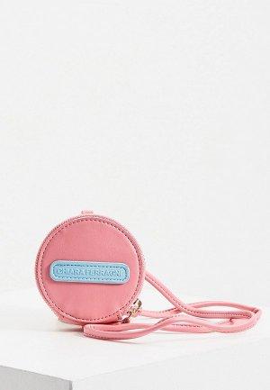 Кошелек Chiara Ferragni Collection. Цвет: розовый