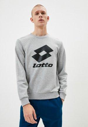 Свитшот Lotto. Цвет: серый