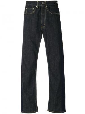 Широкие джинсы Alexander McQueen. Цвет: синий
