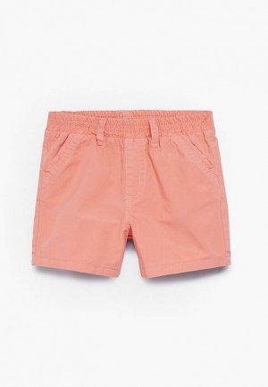 Шорты Mango Kids. Цвет: коралловый