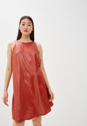 Платье Max&Co. Цвет: красный