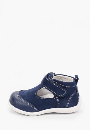 Туфли Reima. Цвет: синий
