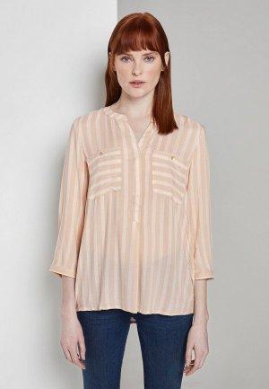 Блуза Tom Tailor. Цвет: коралловый