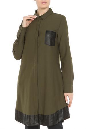 Блуза Beatrice. B. Цвет: зеленый