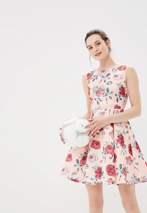 Платье Soky & Soka. Цвет: коралловый