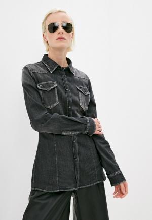 Рубашка джинсовая Dondup. Цвет: серый