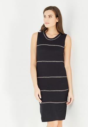 Платье Lucy Paris. Цвет: черный