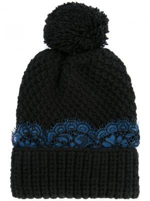 Шапка-бини Aspen 711. Цвет: чёрный