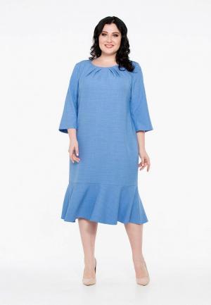 Платье Intikoma. Цвет: голубой