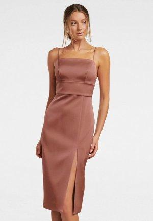 Платье Forever New. Цвет: розовый