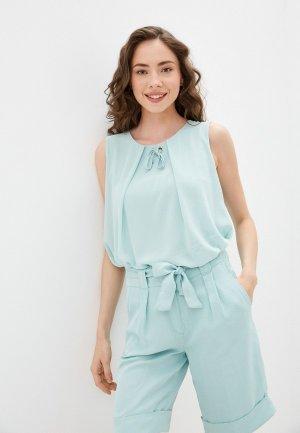 Блуза Betty Barclay. Цвет: бирюзовый