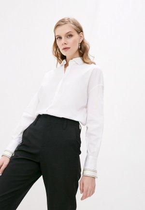 Рубашка Brunello Cucinelli. Цвет: белый
