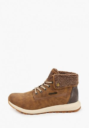 Ботинки для танцев Bugatti. Цвет: коричневый