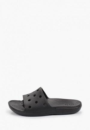 Сланцы Crocs. Цвет: черный