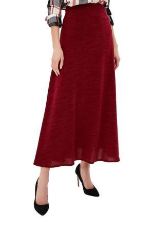 Юбка макси ALINA ASSI. Цвет: бордовый