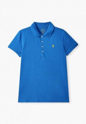Поло Polo Ralph Lauren. Цвет: синий