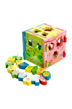 Игровой центр Радужный кубик MAPACHA. Цвет: мультиколор