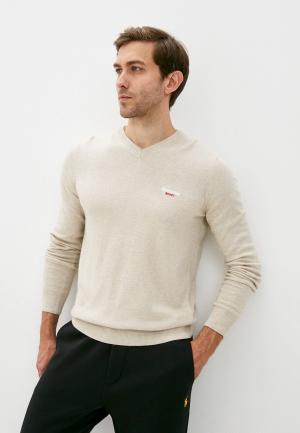 Пуловер Roberto Cavalli Sport. Цвет: бежевый