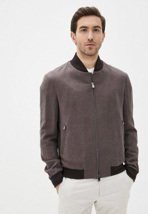 Куртка Corneliani. Цвет: коричневый